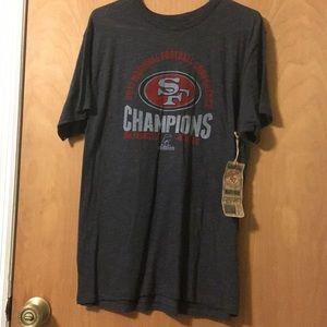 San Francisco 49 fan shirts